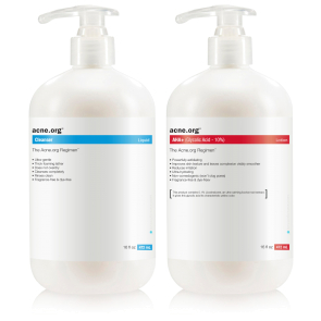 The Acne.org Body Regimen Kit without Benzoyl Peroxide